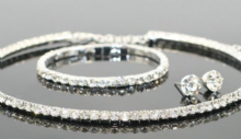 Sparkling Crystal Tri-Set Collection